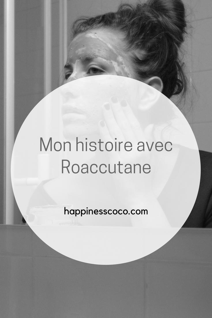 Je vous partage mon expérience et mon histoire avec le traitement pour acné Roaccutane et Curacné