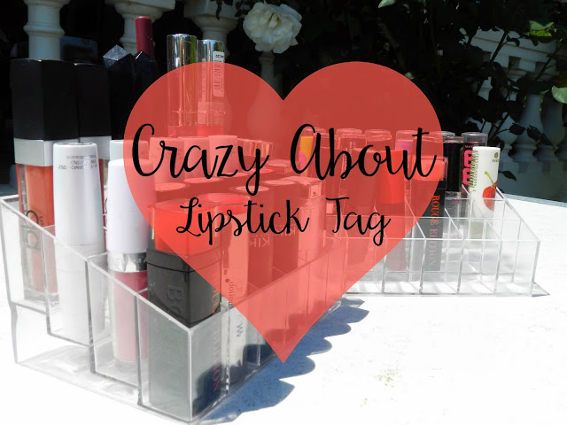 Crazy About Lipstick Tag