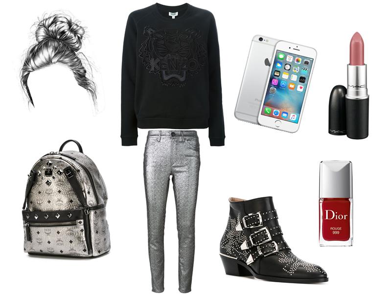 Black & Silver #LookFarfetch