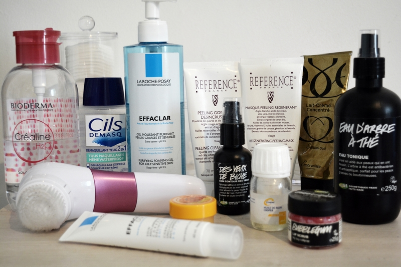Skincare Night Routine