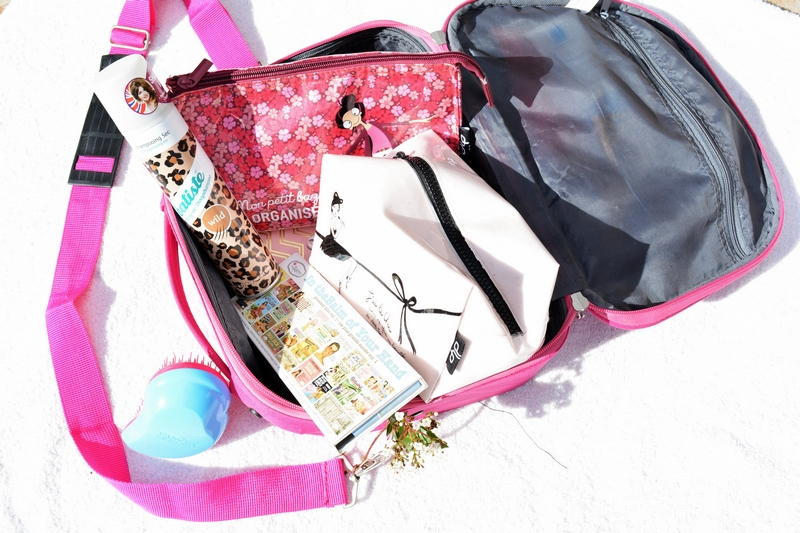 My beauty travel bag