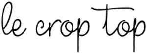 le crop top
