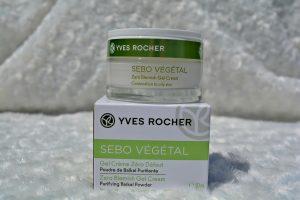 Gel crème zéro défaut sebo végétal Yves Rocher
