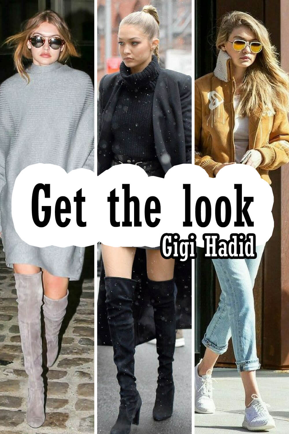 Get the look Gigi Hadid (en soldes)