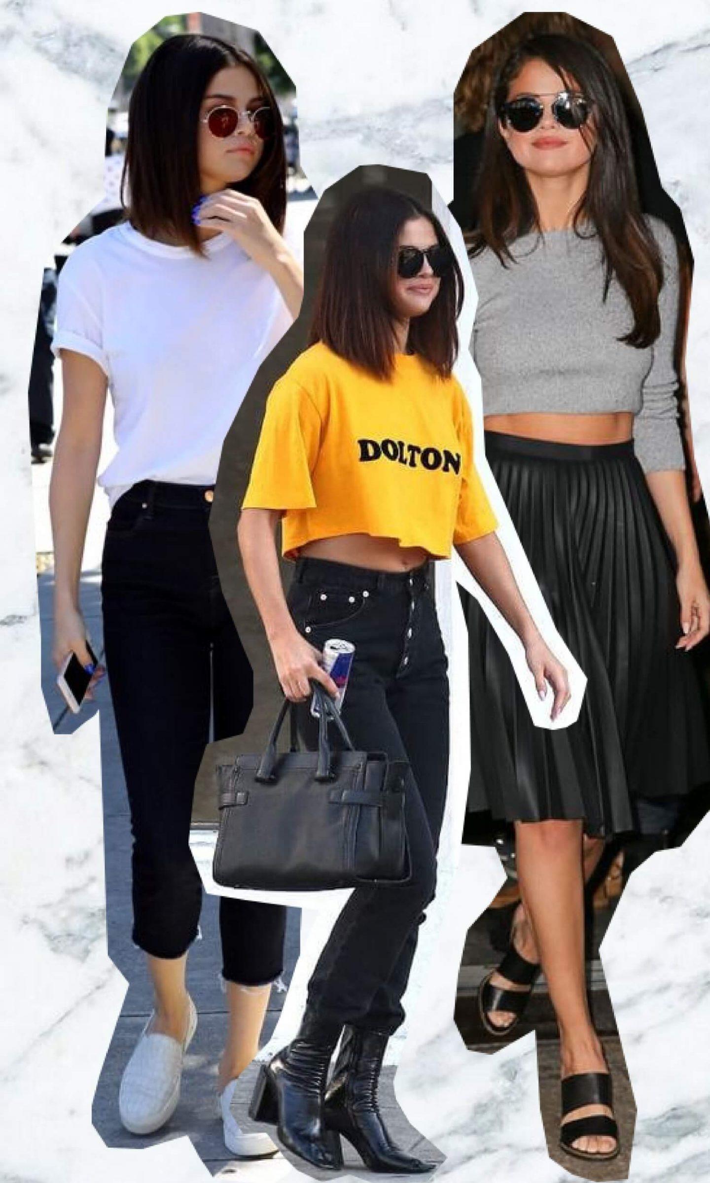 Get the look Selena Gomez (4 tenues)