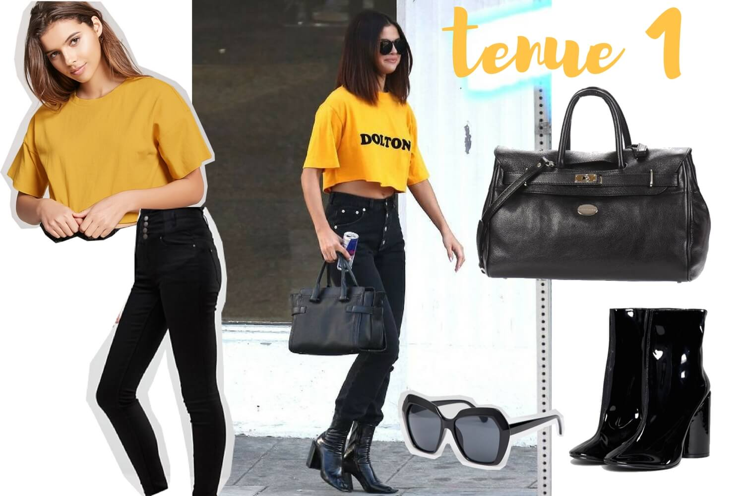 Get the look Selena Gomez tenue 1