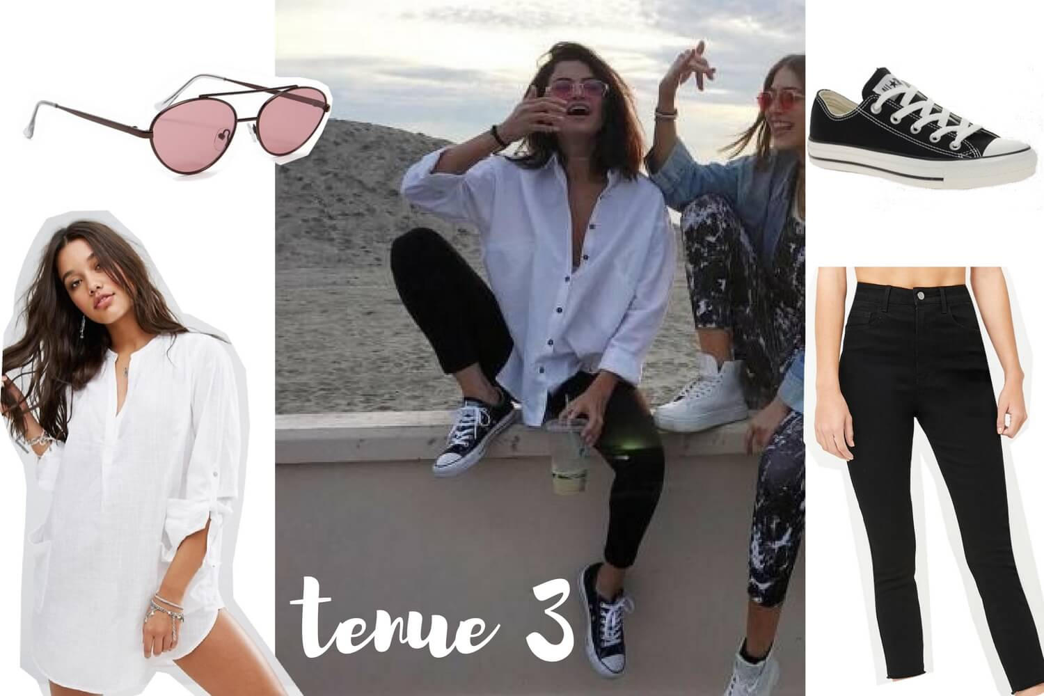 Get the look Selena Gomez tenue 3