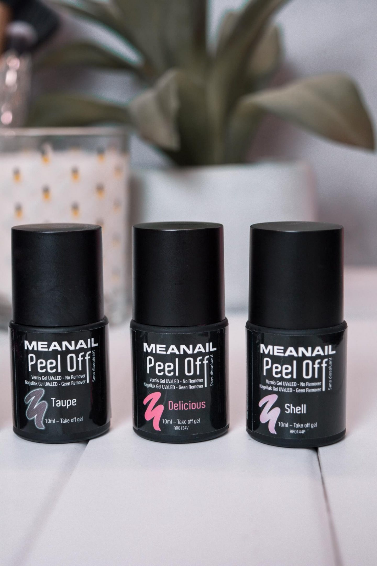 Les vernis peel-off avec Meanails Paris