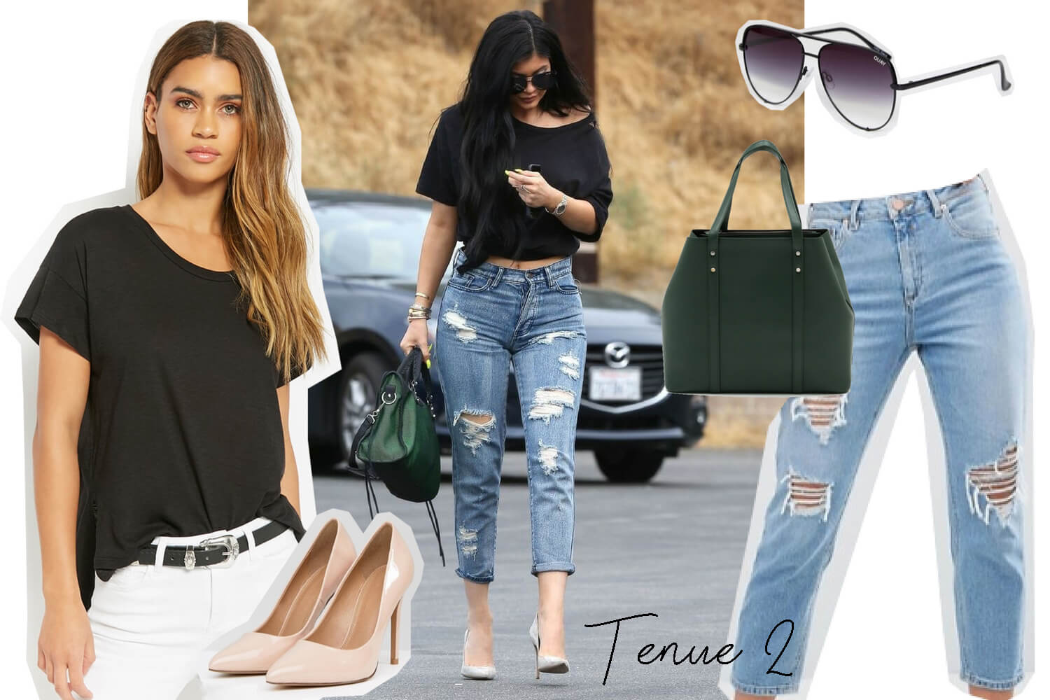 Get the look Kylie Jenner. Tenue 2 | happinesscoco.com