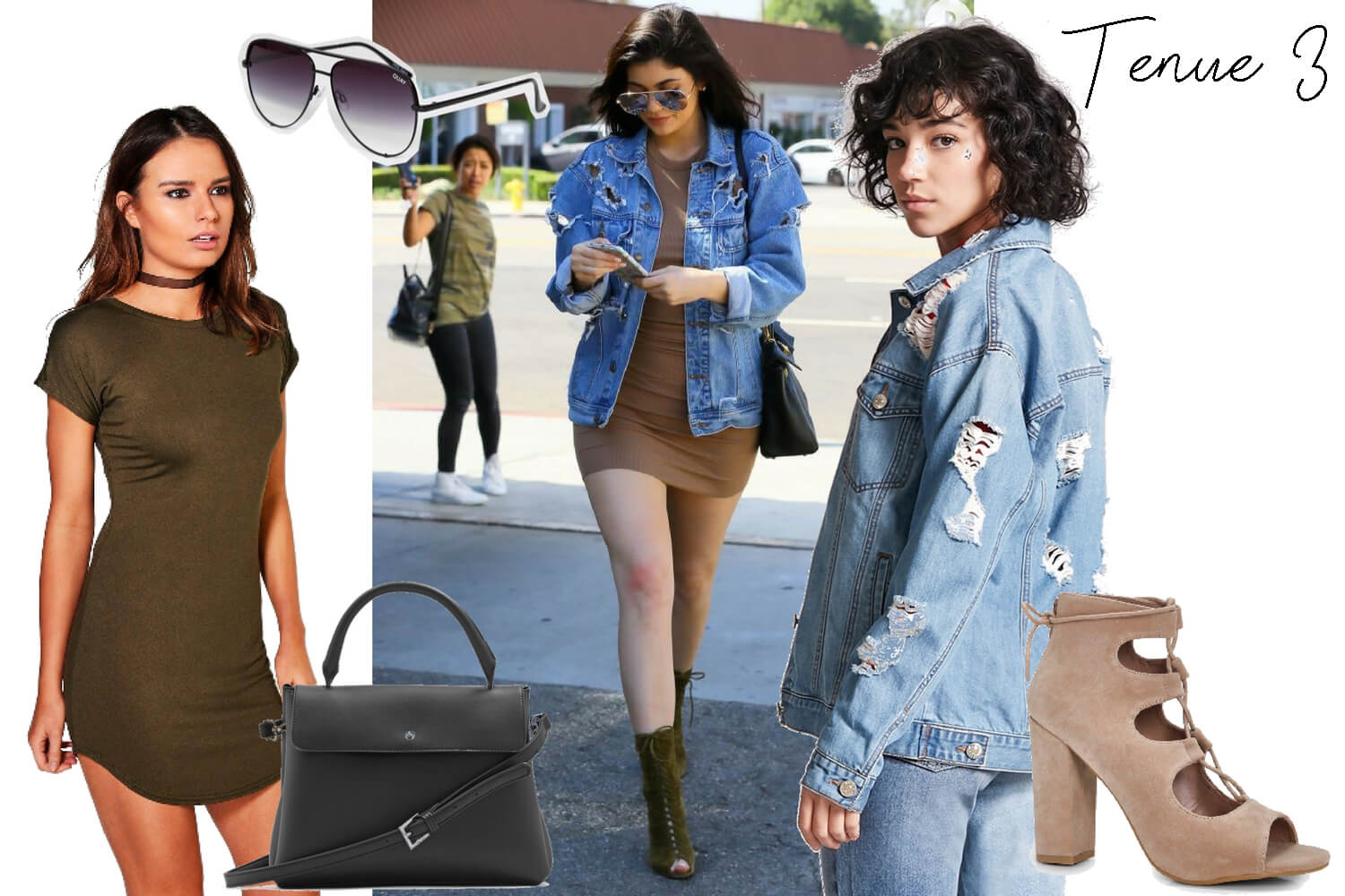 Get the look Kylie Jenner. Tenue 3 | happinesscoco.com