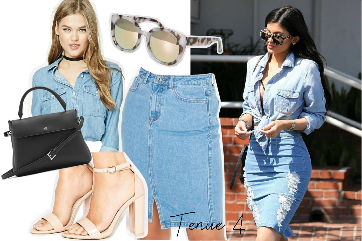 Get the look Kylie Jenner. Tenue 4 | happinesscoco.com