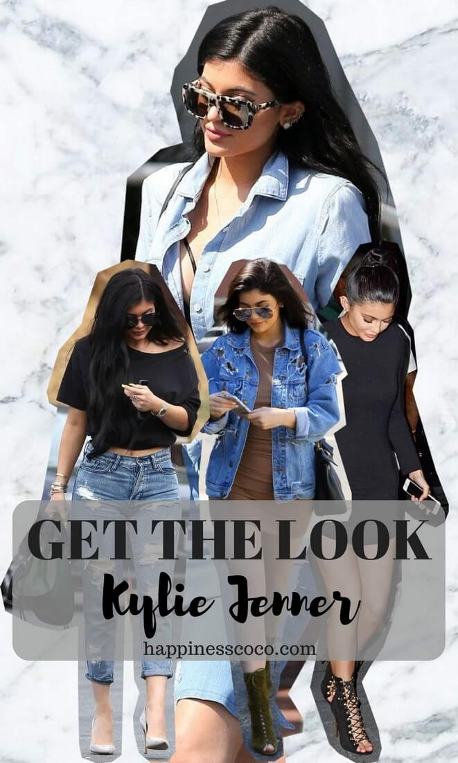 Get the look Kylie Jenner, 4 tenues | happinesscoco.com