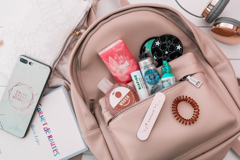 Ma valise et mon sac de voyage pour Rome | happinesscoco.com
