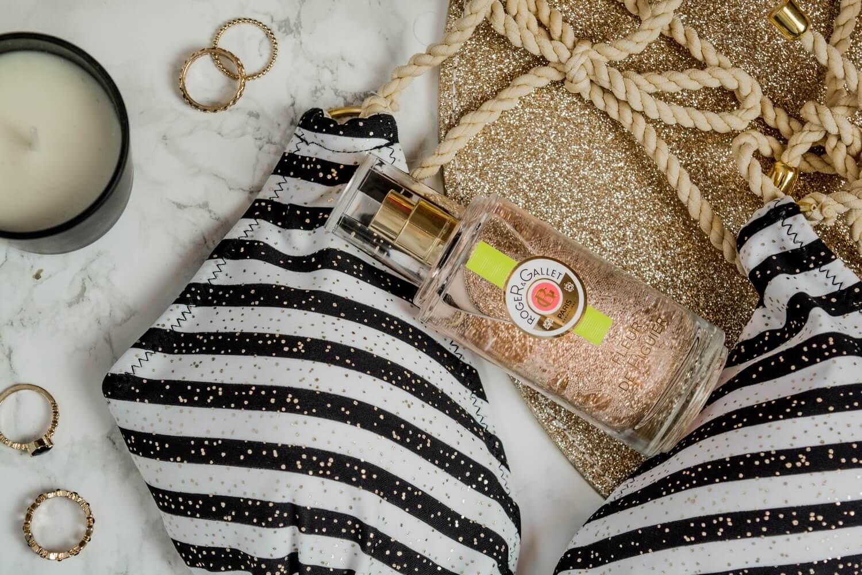 On se prépare doucement pour l'été avec mon maillot de bain bikini Pomm'Poire et mon eau de parfum Roger & Gallet à la fleur de figuier | happinesscoco.com