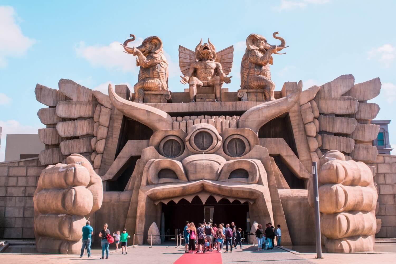Mon avis sur le parc d'attractions CineCittà World à Rome en Italie | happinesscoco.com