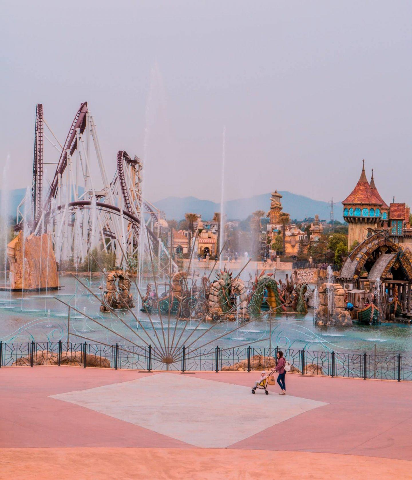Mon avis sur le parc d'attractions Rainbow MagicLand (Rome)