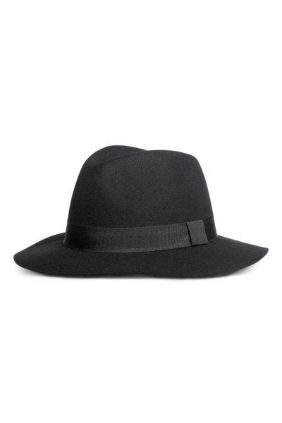 H&M Chapeau en laine feutrée
