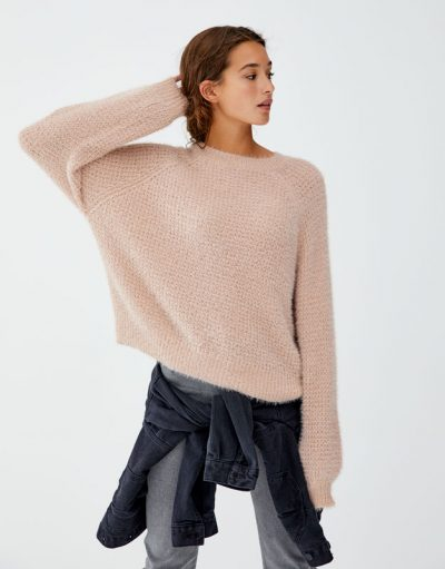 Pull and Bear Pull style mohair couleurs