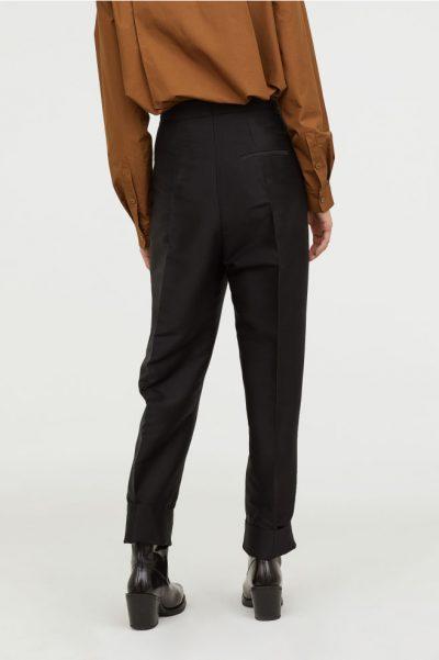 h&m Pantalon en laine mélangée