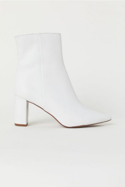 h&m Bottines en cuir