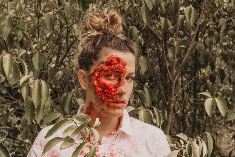 Halloween Makeup : Inspiration Double-Face