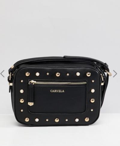 Asos Carvela – Sac bandoulière orné de perles