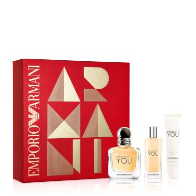 Feelunique Emporio Armani Because Of You Eau de Parfum 50ml Gift Set