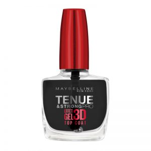 Maybelline New York Tenue & Strong Pro Top Coat Effet Gel 3D 10ml
