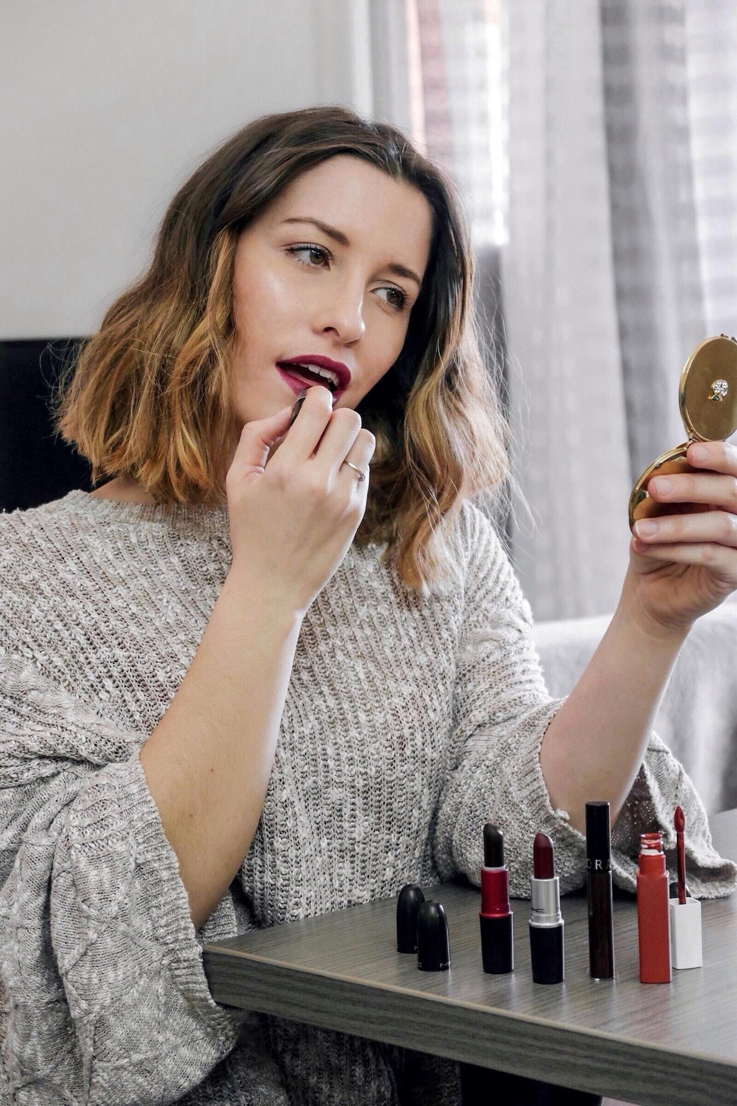 Rouge à lèvres : Mes 5 rouges à lèvres préférés pour cet hiver 2019 - happinesscoco.com
