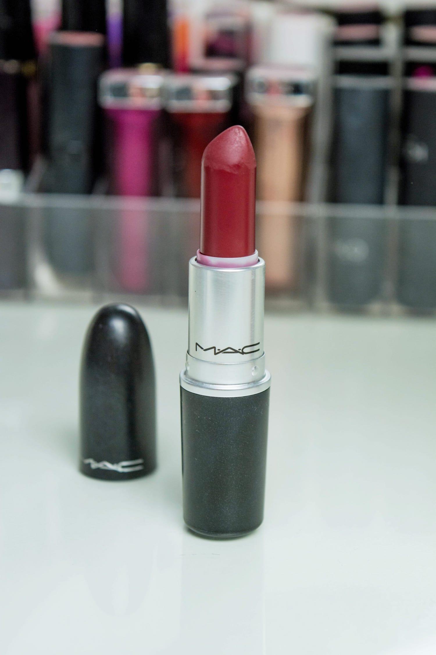 Rouge à lèvres diva mac cosmetics  : Mes 5 rouges à lèvres préférés pour cet hiver 2019 - happinesscoco.com