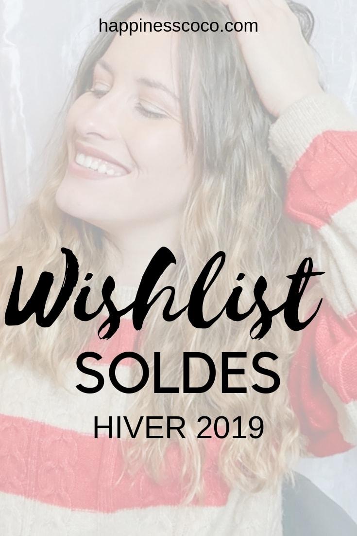 Une nouvelle vidéo est en ligne sur ma chaîne Youtube ! Il s'agit de ma wishlist soldes hiver 2019 - happinesscoco.com