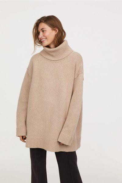 H&M Pull en laine mélangée