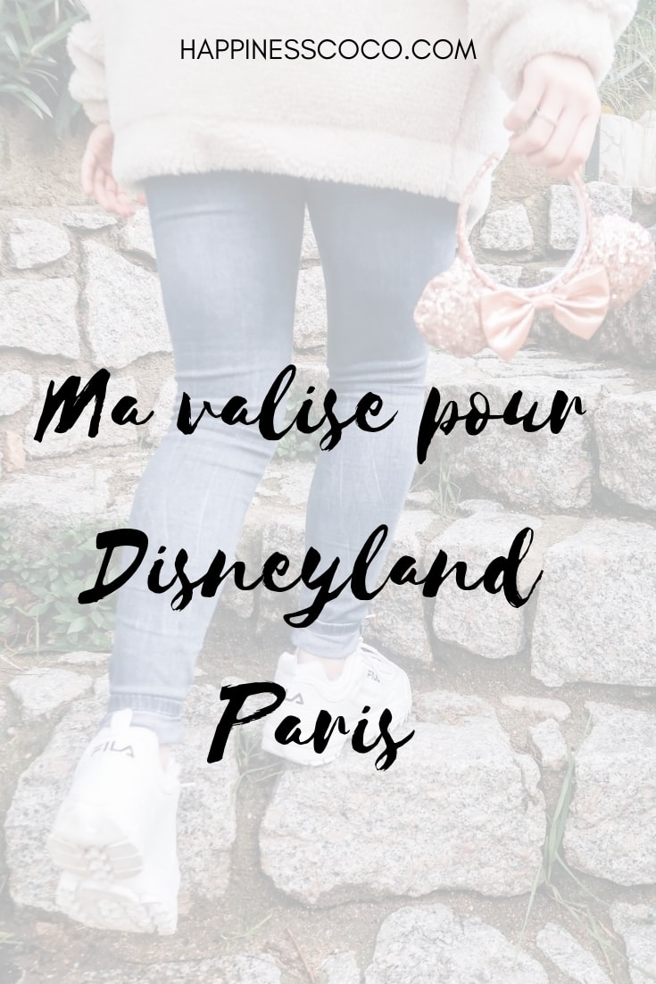 Ma valise pour Disneyland Paris - happinesscoco.com