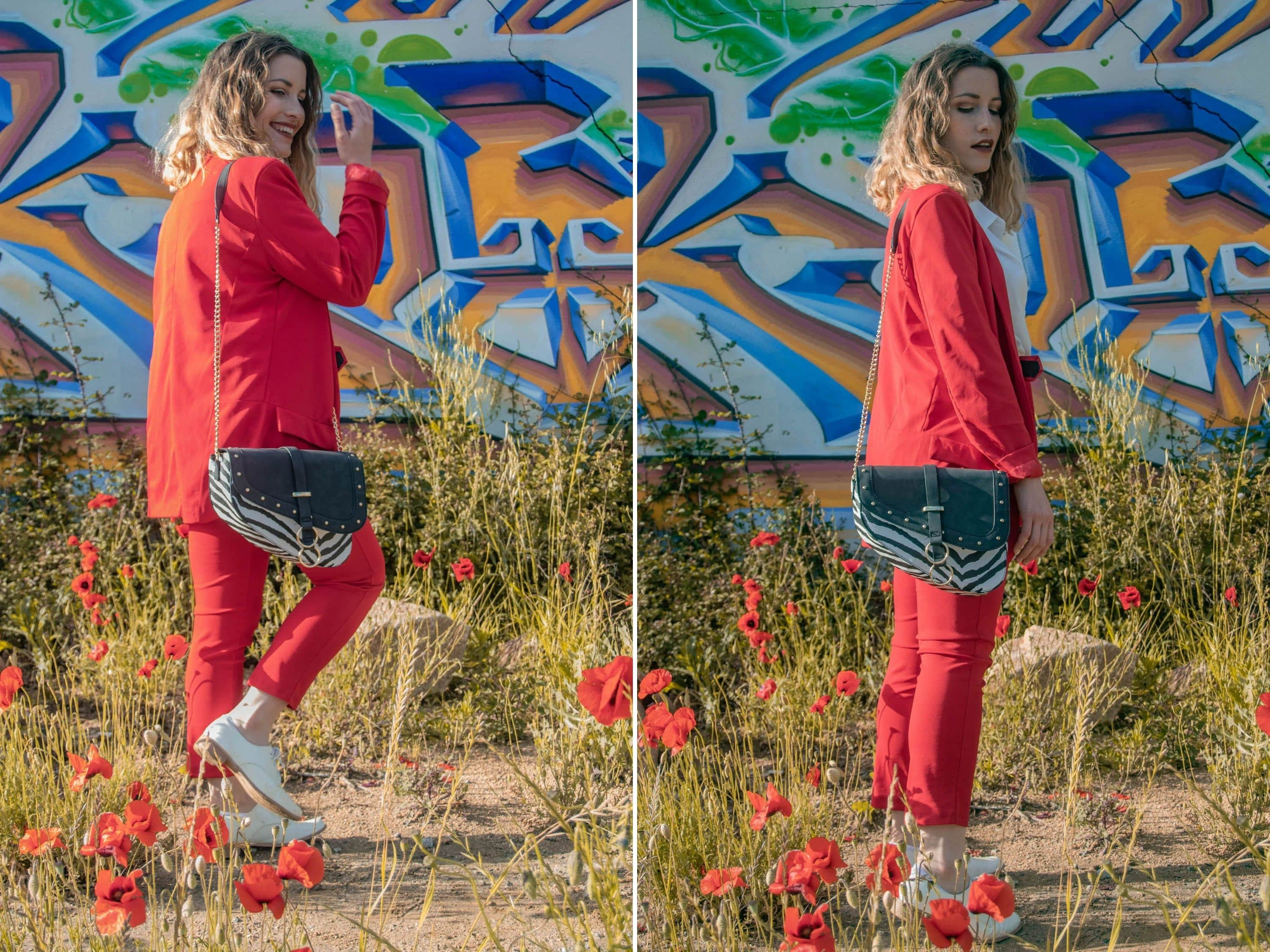 Comment porter le tailleur rouge boohoo ? - happinesscoco.com