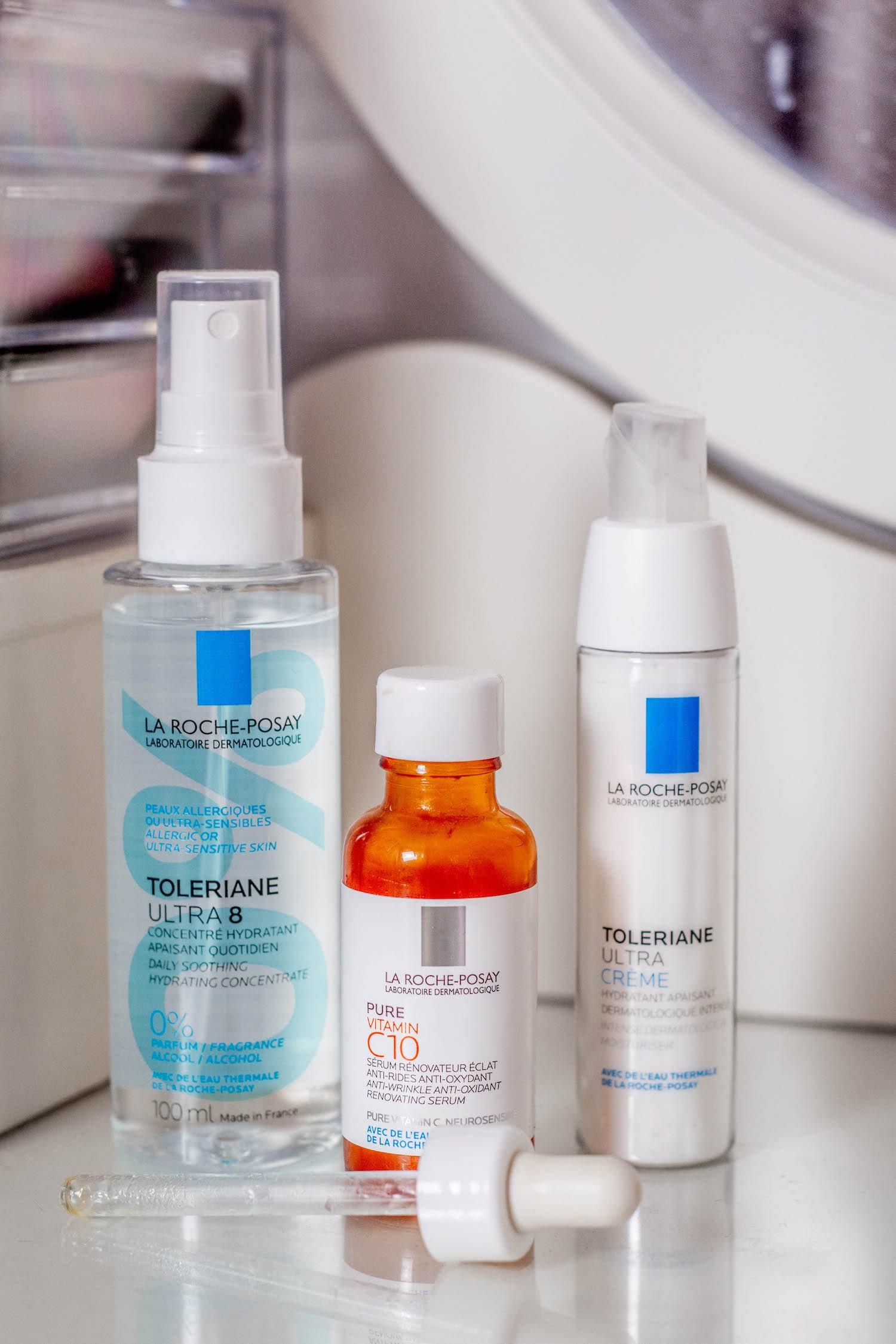 Les derniers produits skincare que j'ai reçus et testé - La Roche Posay et Ella Baché - HappinessCoco.com