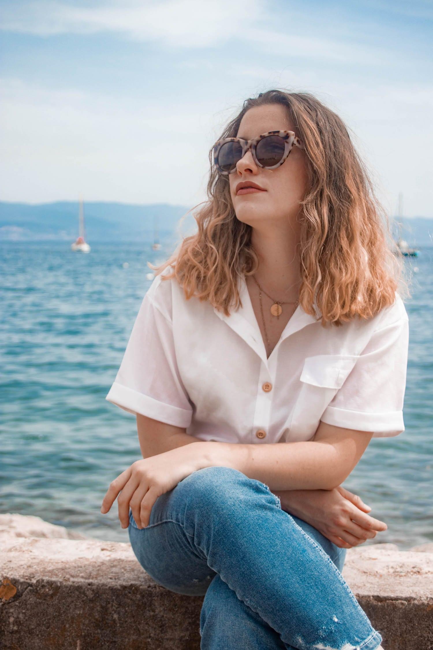 Comment porter la chemise blanche manches courtes ? - happinesscoco.com