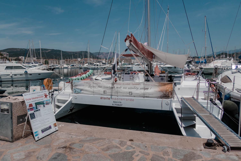 Un après-midi sur le catamaran étoile méditerranée - happinesscoco.com