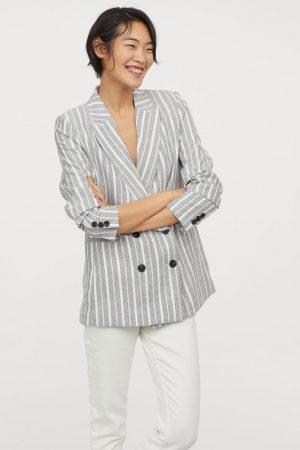 H&M Blazer à double boutonnage