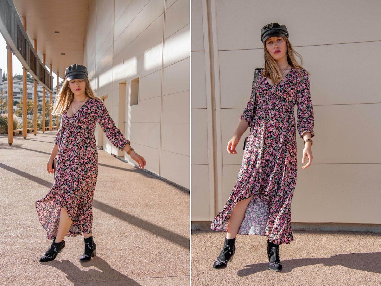 Comment porter la robe longue en automne ? - happinesscoco.com