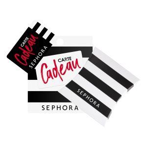 Carte cadeaux Sephora
