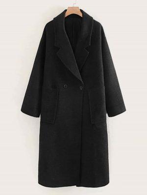 SHEIN Manteau avec poches