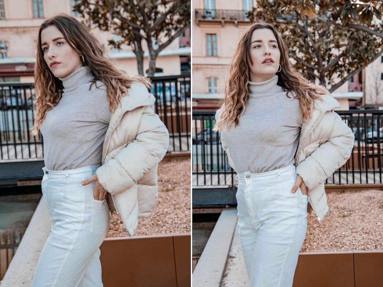 Comment porter la doudoune oversize ? Tenue et sélection mode - HappinessCoco.com