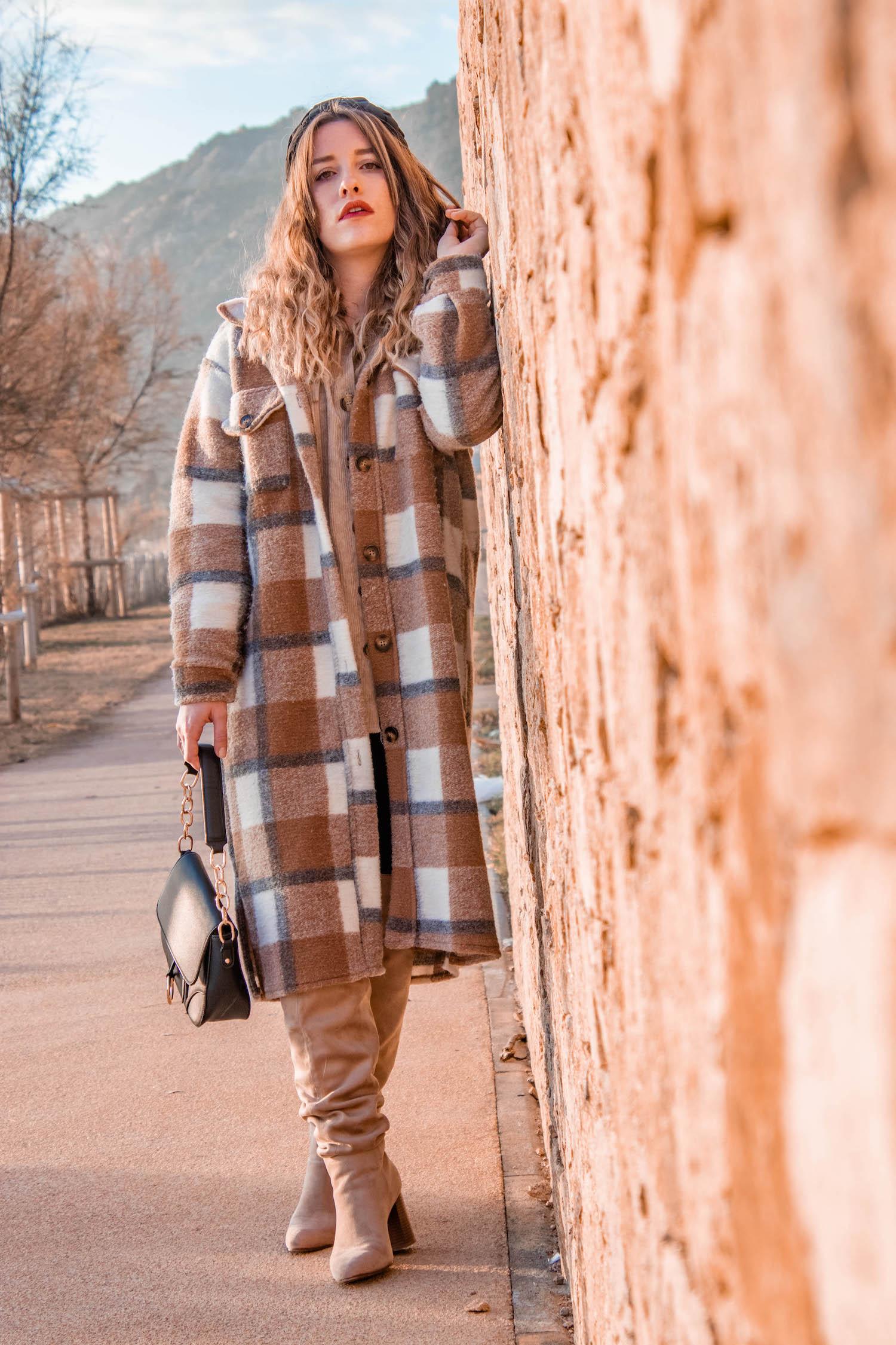 Comment porter le manteau à carreaux ? - HappinessCoco.com