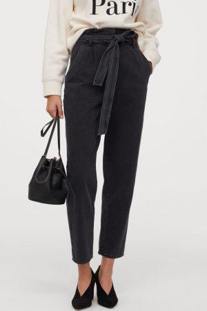 H&M Pantalon paper bag 7/8