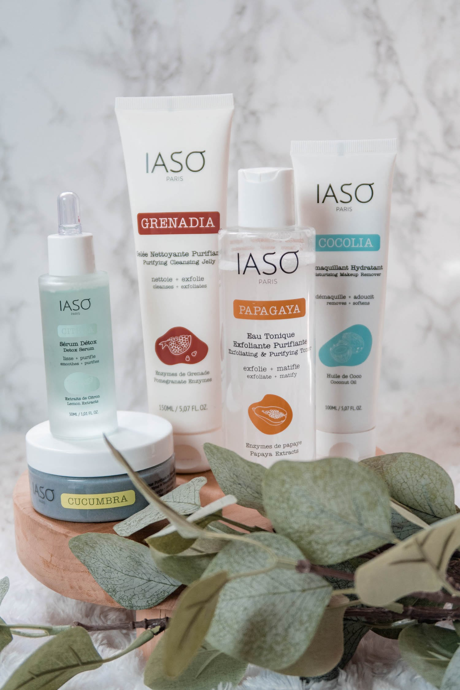 Des soins fruités pour la peau avec Iaso Paris - Revue beauté top ou flop ? - HappinessCoco.com
