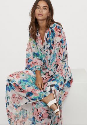 H&M Robe en mousseline