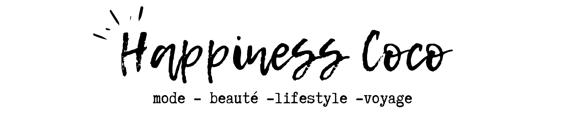 HappinessCoco – Mode, Beauté, Lifestyle & Voyage