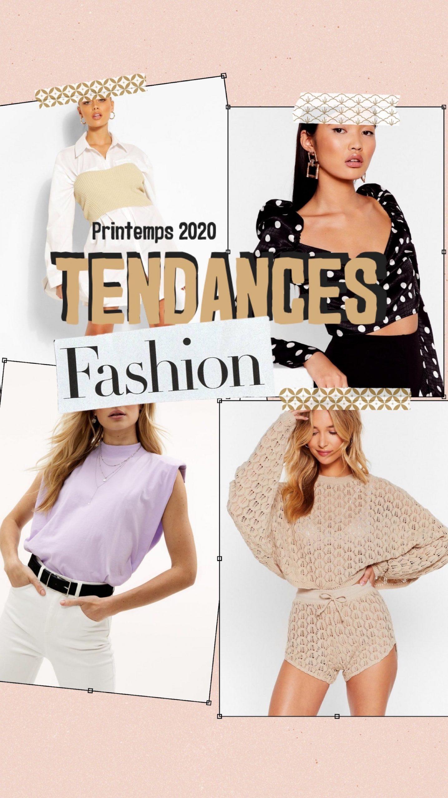 Les tendances mode, chaussures et accessoires du printemps 2020 - happinesscoco.com