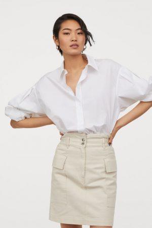 H&M Jupe saharienne