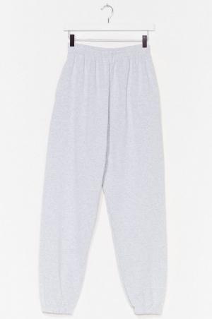 Nastygal Pantalon de jogging à taille haute Gym vais ou gym vais pas